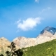 Movement of Clouds over the Tops of the Tien Shan Mountains in Summer - VideoHive Item for Sale