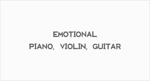 Emotional Piano Violin Guitar