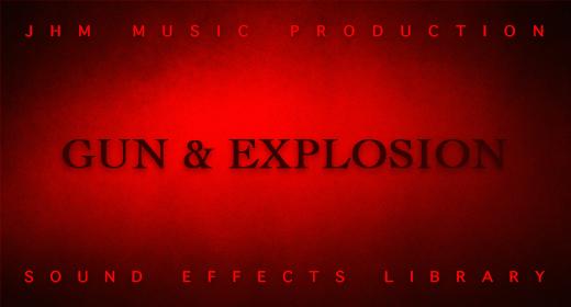 Gun  & Explosion Sounds Library