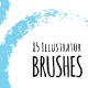85 Illustrator Brushes - GraphicRiver Item for Sale