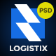 Logistix | Transportation PSD Template