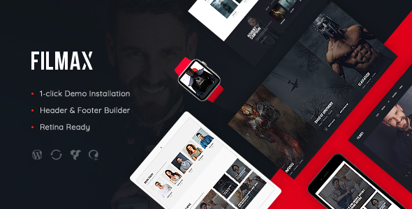 Filmax | Movie Magazine WordPress Theme - Blog / Magazine WordPress