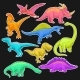 Colorful Collection of Prehistoric Reptiles. - GraphicRiver Item for Sale