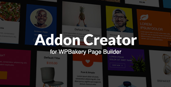 Addon Creator for WPBakery Page Builder - CodeCanyon Item for Sale