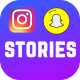Instagram and Snapchat Stories Pack - VideoHive Item for Sale