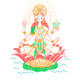 Icon Godess Laxmi - GraphicRiver Item for Sale