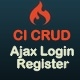 Codeigniter Macrotech CRUD With Ajax Authentication