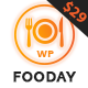 Fooday - Fresh & Luxury Restaurant, Coffee WordPress Theme - ThemeForest Item for Sale