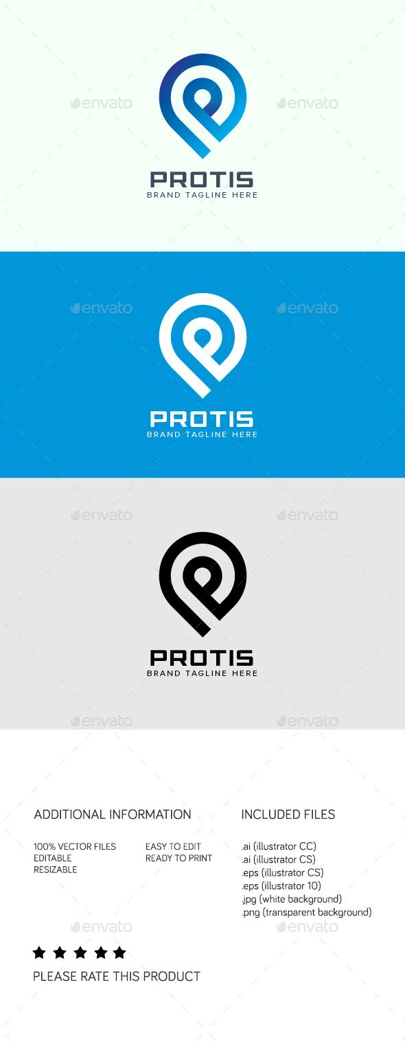 Protis Logo - Abstract Logo Templates