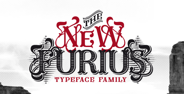 Furius - Decorative Fonts