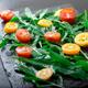 Vegetarian arugula salad with kumquat - PhotoDune Item for Sale