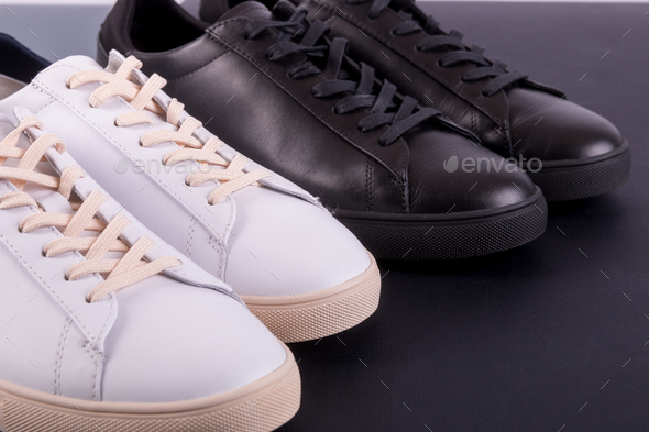 Pair of sneakers shoes - Stock Photo - Images