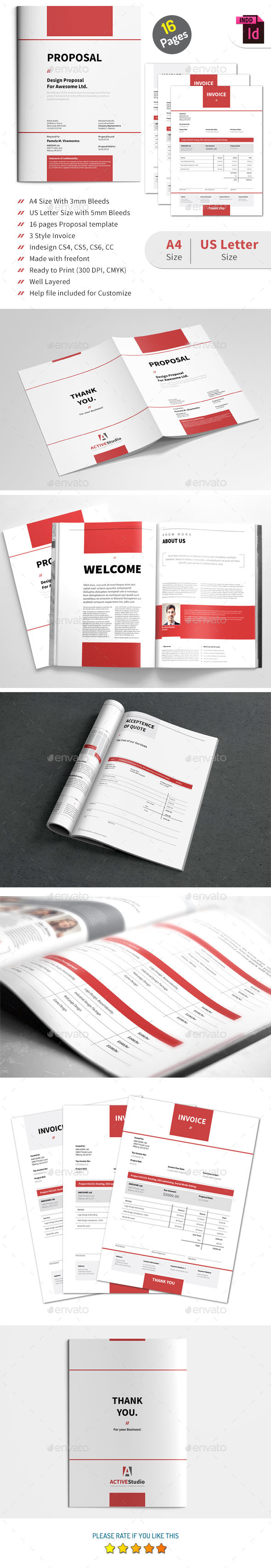 Proposal - Proposals & Invoices Stationery