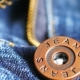 Metal Button on Jeans - VideoHive Item for Sale
