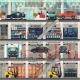 Car Dealership with Repair and Wash