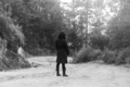 Woman In Forest Black And White - PhotoDune Item for Sale