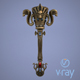 Fantasy torch - 3DOcean Item for Sale