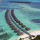 Aerial of Luxurious Overwater Resort - VideoHive Item for Sale