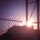 Sunset Behind The Fence - PhotoDune Item for Sale