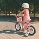 Little Girl on a Pink Bicycle Summer Activity - VideoHive Item for Sale