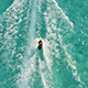 Wake Boarder Being Pulled in Beautiful Clear Tropical Water - VideoHive Item for Sale