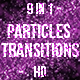 Particles Transitions - VideoHive Item for Sale