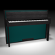 Modern Upright Piano - 3DOcean Item for Sale
