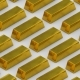 Gold Bullion Bar Treasury Wealth Luxury Finance Goods Trading - VideoHive Item for Sale