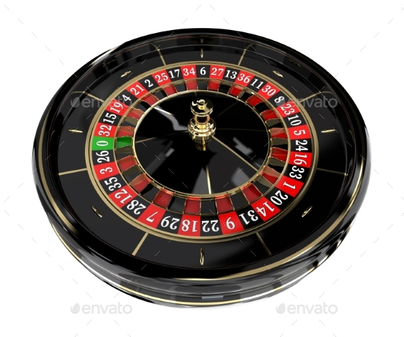 Casino Roulette Wheel 3D - Objects 3D Renders
