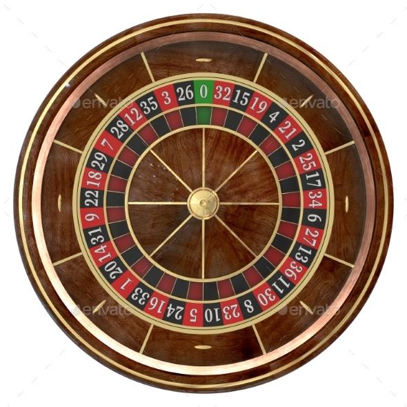 Casino Roulette Wheel 3D - Objects 3D Renders