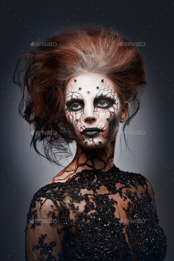 Creepy queen. - Stock Photo - Images