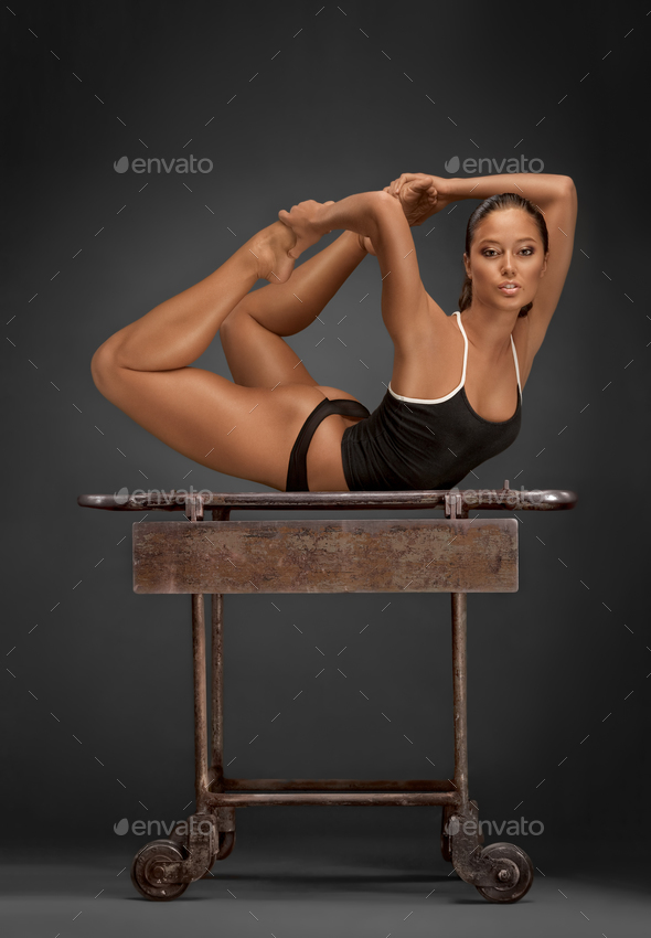 Gymnastic gimmicks. - Stock Photo - Images