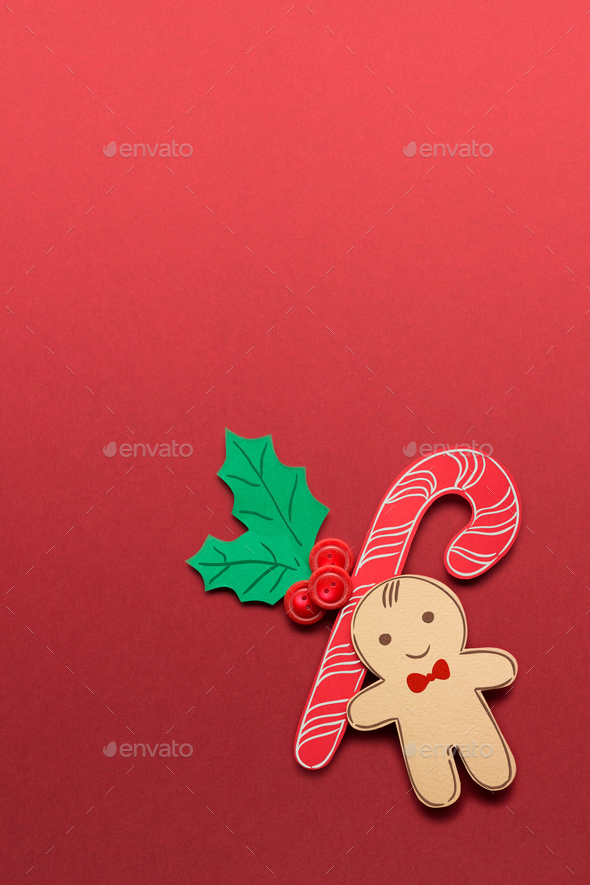 Gingerbread man's smile. - Stock Photo - Images