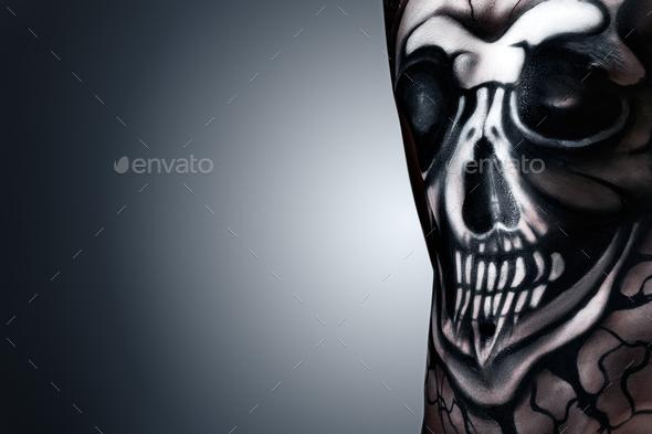 Hamlet skull. - Stock Photo - Images