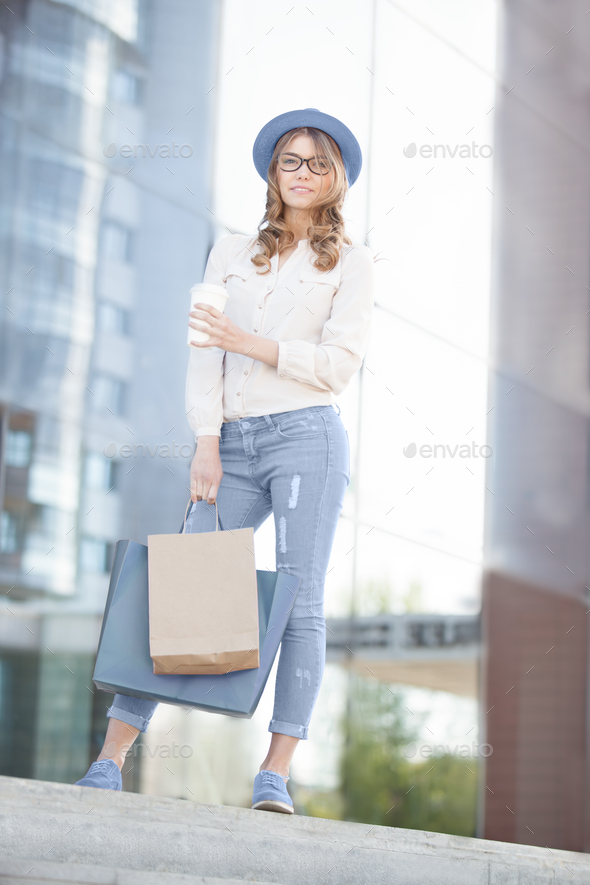 Carrying bags. - Stock Photo - Images