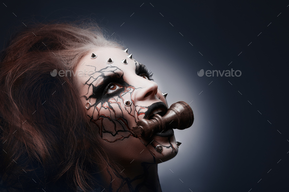 Defeated and eaten. - Stock Photo - Images