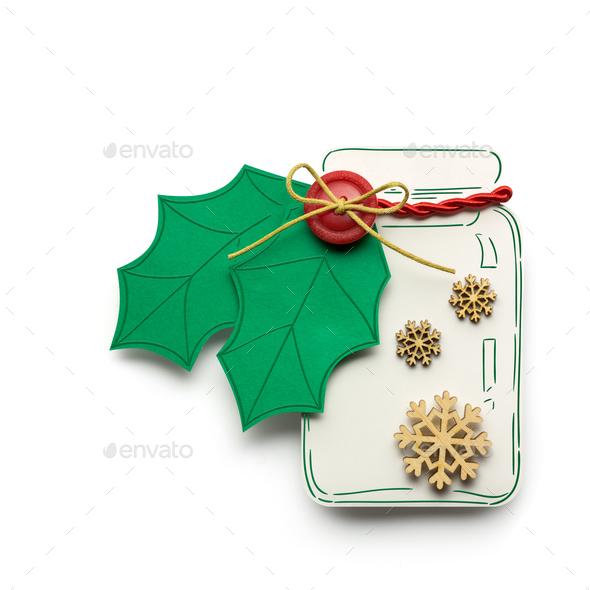 Christmas bottle. - Stock Photo - Images