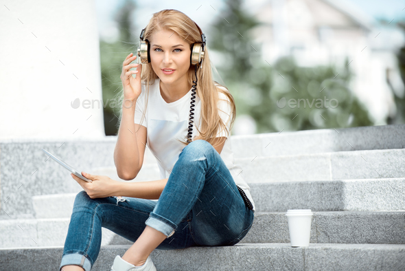 Urban music. - Stock Photo - Images