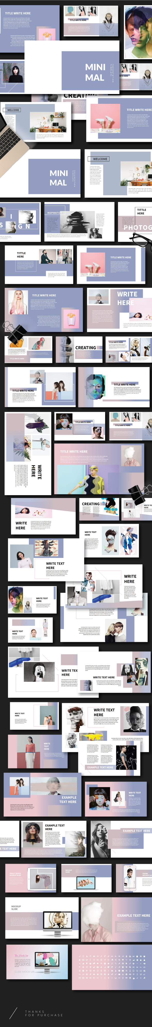 Minimal - Creative Powerpoint Template - Creative PowerPoint Templates