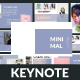 Minimal - Creative Keynote Template
