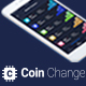 Coin Change - Cryptocurrency Exchange App UI Kits - GraphicRiver Item for Sale