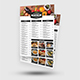 Food Menu - 4 Color Options - GraphicRiver Item for Sale