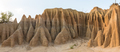Panorama of erosion canyon at Koranna Mountain near Excelsior - PhotoDune Item for Sale