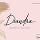 Diandra Signature Font - GraphicRiver Item for Sale
