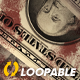 Dollar Bills - Dramatic Loop - Bloody Banknotes - VideoHive Item for Sale