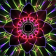 Neon Mandala Rays - VideoHive Item for Sale