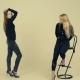 Female Model in Black Posing for Photo in Studio, Female Teacher Training Model - VideoHive Item for Sale