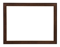 modern flat brown painted wooden picture frame - PhotoDune Item for Sale