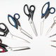 above view of semicircle from different scissors - PhotoDune Item for Sale