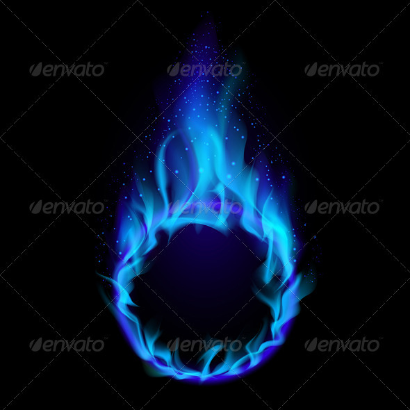 Blue ring of Fire - Man-made Objects Objects